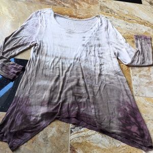Soft Surroundings Supersoft Rayon tie-dye neutrals